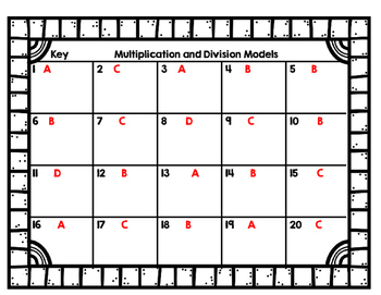 Arrays for the Holidays! Multiplication and Division Models