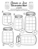 Arrays of Love - Conversation Heart Jars