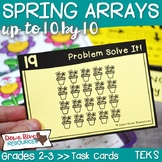 Arrays up to 10 by 10 to Represent Multiplication Facts |