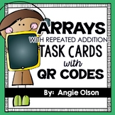 Arrays with Repeated Addition Task Cards (included in Math