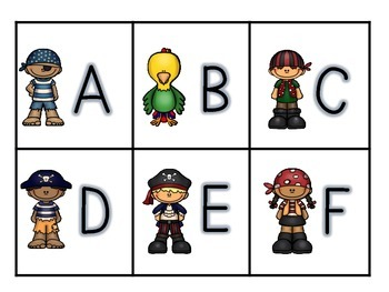 Arrgh! Letter Identification Game