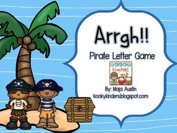 Arrgh! Letter Identification Game