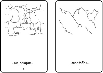 Arriba Spanish Printable Minibook