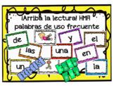 Arriba la Lectura Spanish Sight Words Exercise PowerPoint Houghton Mifflin HMH