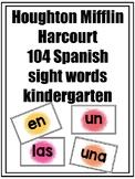 Arriba la lectura HMH  Kindergarten High Frequency Words Flashcards Pastel Color