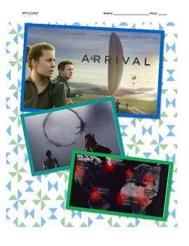 Arrival Film Guide: Culture, Developmental Psychology, Language, Nonverbal