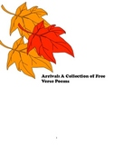 Arrival: Free Verse Poems for Class Use