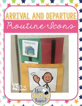 Arrival and Departure Routine Icons