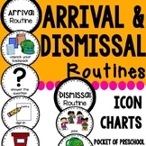 Arrival and Dismissal Routine Charts