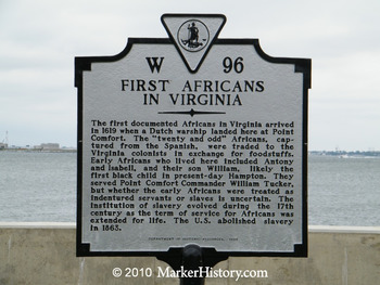 "Arrival of the ""Twenty & Odd"" Origin of Slavery in Jamestown and America, A Play"