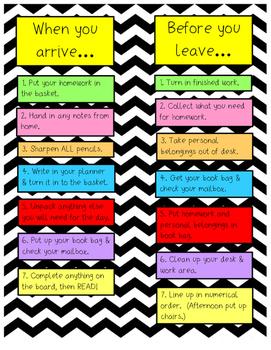 Arrive/Leave poster