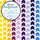 Arrow Backgrounds - 8.5 x 11 - 300dpi - 34 Solid Colors!