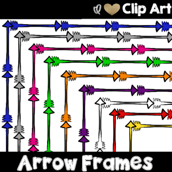 Arrow Bundle - Backgrounds, Frames and Borders