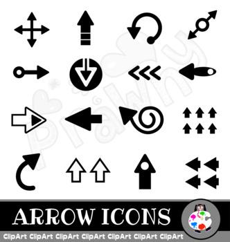 Arrow Clip Art Icons