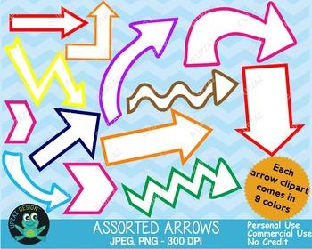 Arrows {Upzaz Digital Clipart}