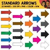 FREE Standard Arrows Clipart