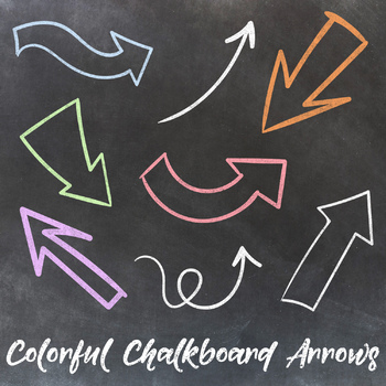 Arrow Clipart, Chalkboard Arrows