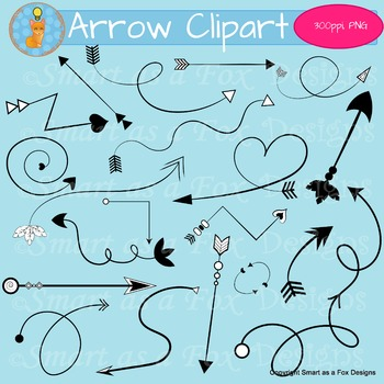 Arrow Clipart Digital Graphics for Covers and Printables