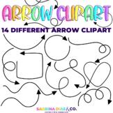 Arrow Doodle Clipart