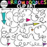 Arrow Doodles Clip Art {Arrow Clip Art}