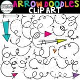 Arrow Doodles Clip Art {Arrow Clip Art}