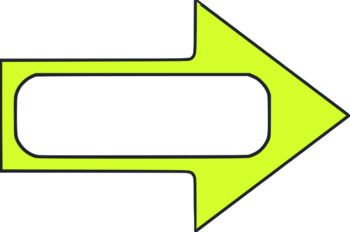 Arrow Frames - 14 total - clip art