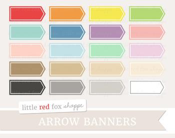 Arrow Label Clipart; Frame, Banner