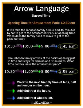 Arrow Language: Elapsed Time