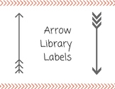 Arrow Library Labels (In Color)