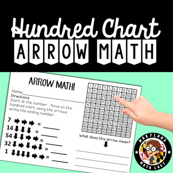 Arrow Math - Addition and Subtraction on a Hundred Chart