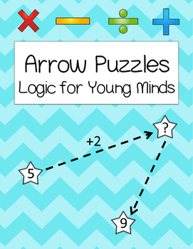 Arrow Math Logic Problems {Kindergarten & First Grade Thinking Skills}