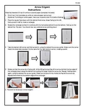 Arrow Origami By Innovative Teacher