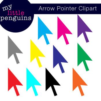 Mouse Cursor Clipart (Arrow Pointer clip art png format)
