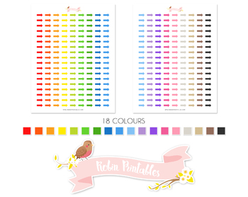 Arrow Printable Planner Stickers