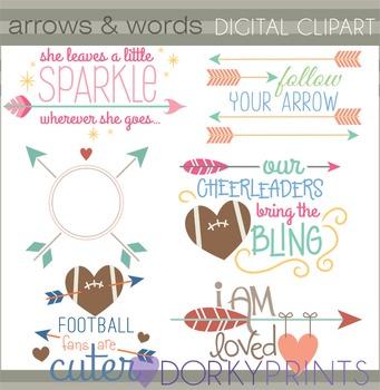 Arrow Quotes Clip Art