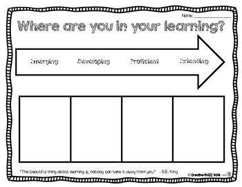 Arrow Self-Assessment and Reflection Tool