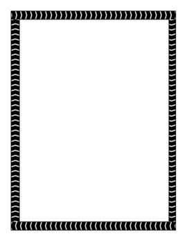 Arrow Tape Page Borders