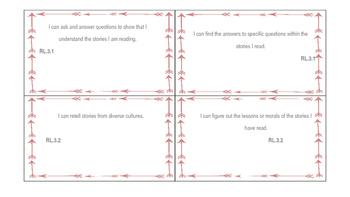 Arrow Theme 3rd Grade I Can ELA Statements