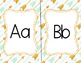 Arrow Theme Alphabet Posters for Classroom