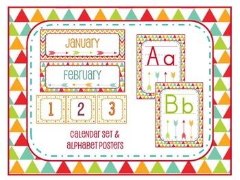 Arrow Theme Classroom Decoration Pack