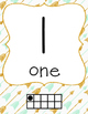 Arrow Theme Number Line 0-20