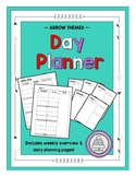 Arrow Themed Day Planner