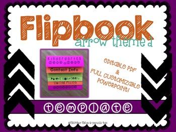 Arrow Themed Editable Flipbook