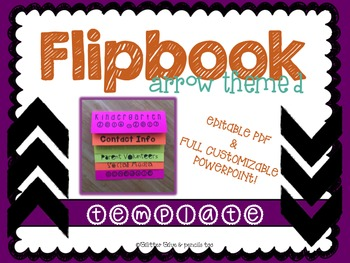 Arrow Themed Editable Flipbook