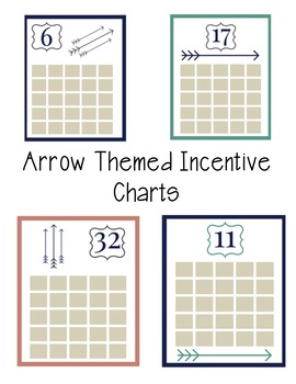 Arrow Themed Incentive Charts