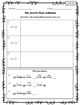 Arrow Way Practice Sheets: Aligns with Grade 2 Module 4