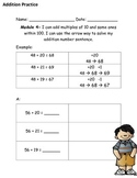 Arrow Way Practice Workpage Addition and Subtraction-MODUL