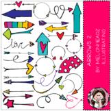 Arrow clip art - Set 2 - COMBO PACK - Melonheadz Clipart