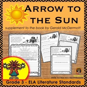 Arrow to the Sun Literature Standards Support Pages