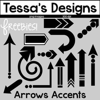 Arrows Accents {Freebie}
